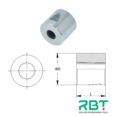 Serration Rotary Broach Special Form