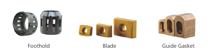 Skiving and Roller burnishing Tools Replaceable Parts