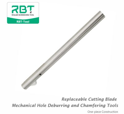 Replaceable Cutting Blade Mechanical Hole Deburring and Chamfering Tools (One-piece Construction)
